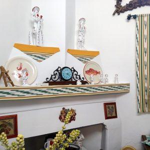Chimenea de estilo clásico mallorquín