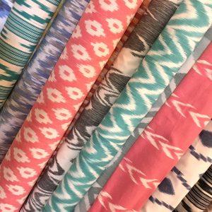 Rollos de tela de estilo mallorquín