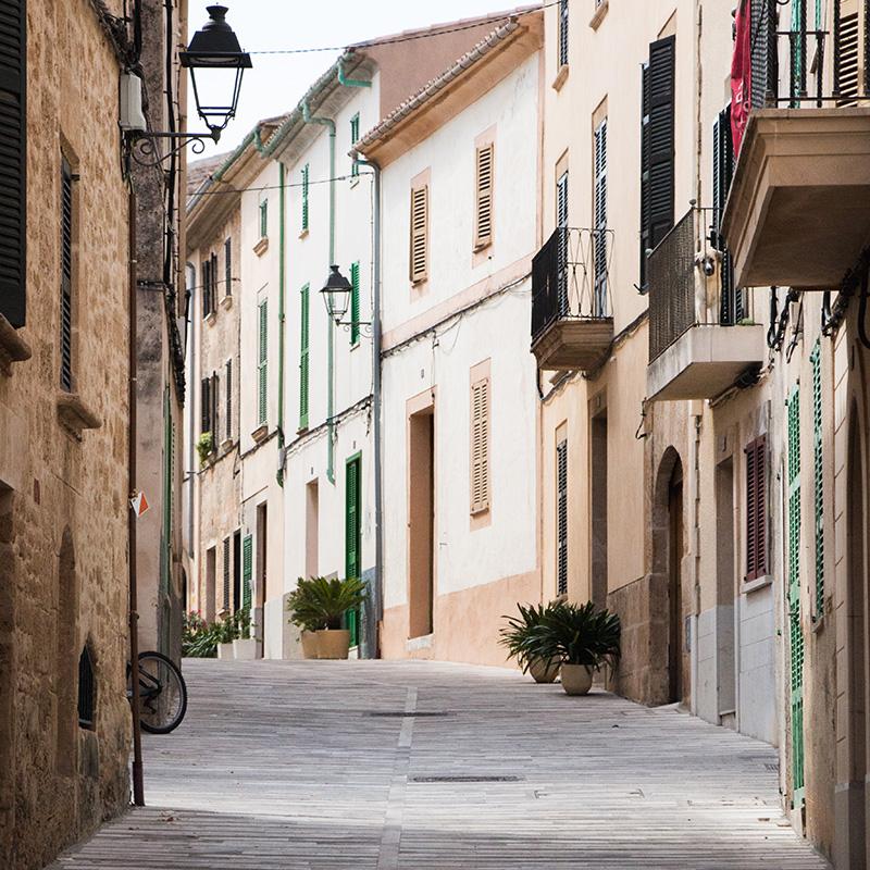 Calle de Alcúdia (Mallorca)